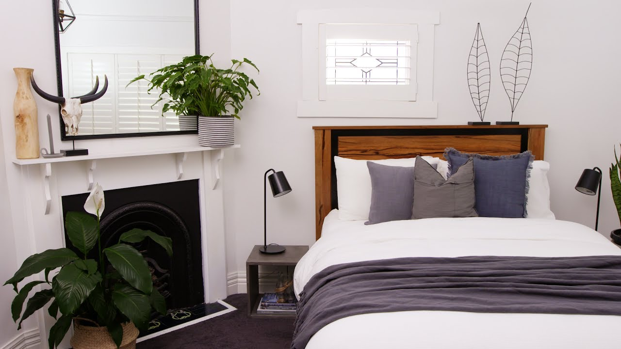 Green Space How To Add Greenery To The Bedroom Youtube