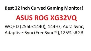 Video ROG XG32VQ Curved Gaming Monitor UNBOXING!! download MP3, 3GP, MP4, WEBM, AVI, FLV April 2018