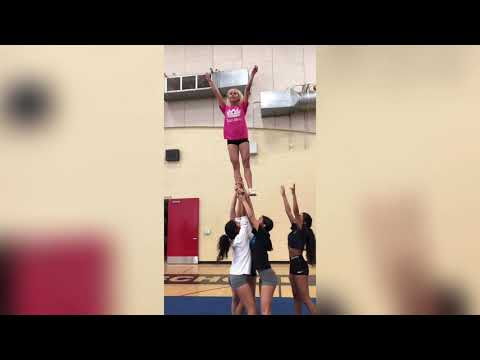 vnhs cheer stunts
