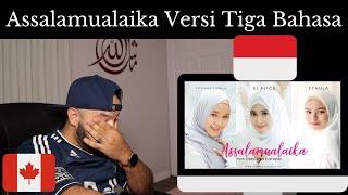 Download lagu Assalamu' Alaika Versi Tiga Bahasa (INEMA Cover) - Reaction (BEST REACTION)