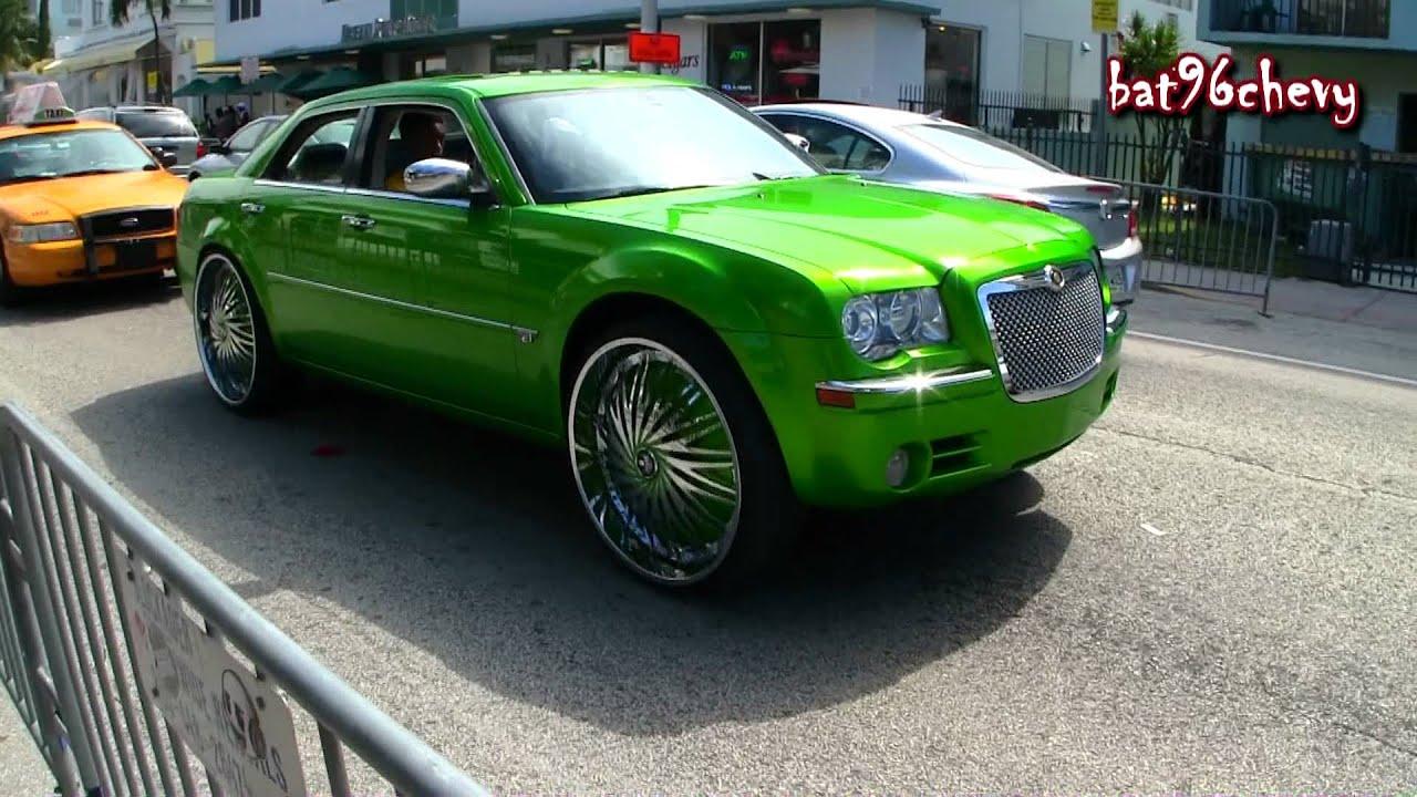 Candy Blue Chrysler 300