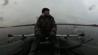 Весенняя охота на уток и гусей video 360 / VR Virb Garmin