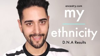 My Ethnicity - Ancestry.com DNA Results ✖ James Welsh