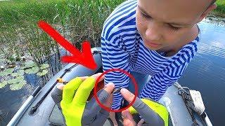 Поехали с ребенком за щукой, а поймали... :) Щуку тоже поймали, если что!