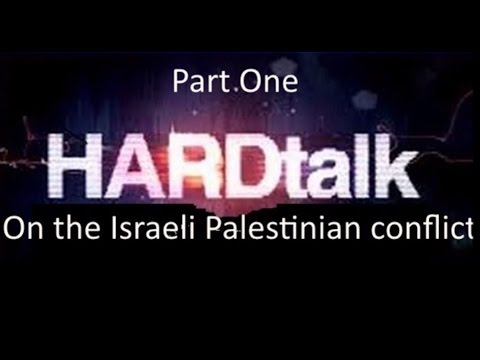 HARDtalk's on the Israeli Palestinian conflict Part 1