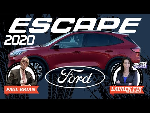 2020 Ford Escape Review | His Turn Her Turn - Paul Brian & Lauren Fix