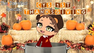 The Darwins Special | Cy's 1st Thanksgiving | Original Gacha Club Thanksgiving Special