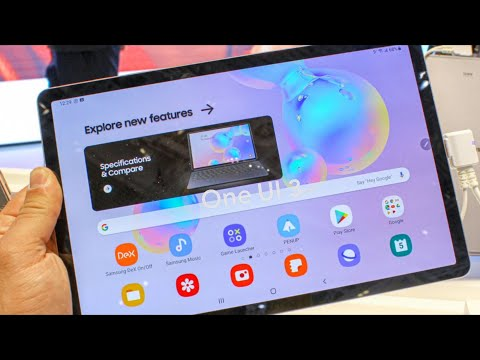 Samsung Galaxy Tab S6 One Ui 3.1 (Android 11) Upgrade + First Impressions