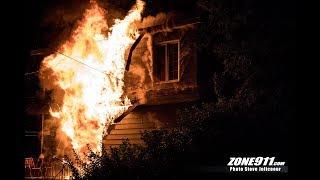 Incendie éclaté dans une résidence du  boulevard François Xavier à Beauport