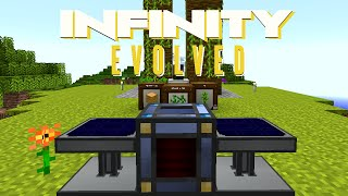 Minecraft Mods FTB Infinity Evolved - STARTER TREE FARM [E10] (Modded Expert Mode)
