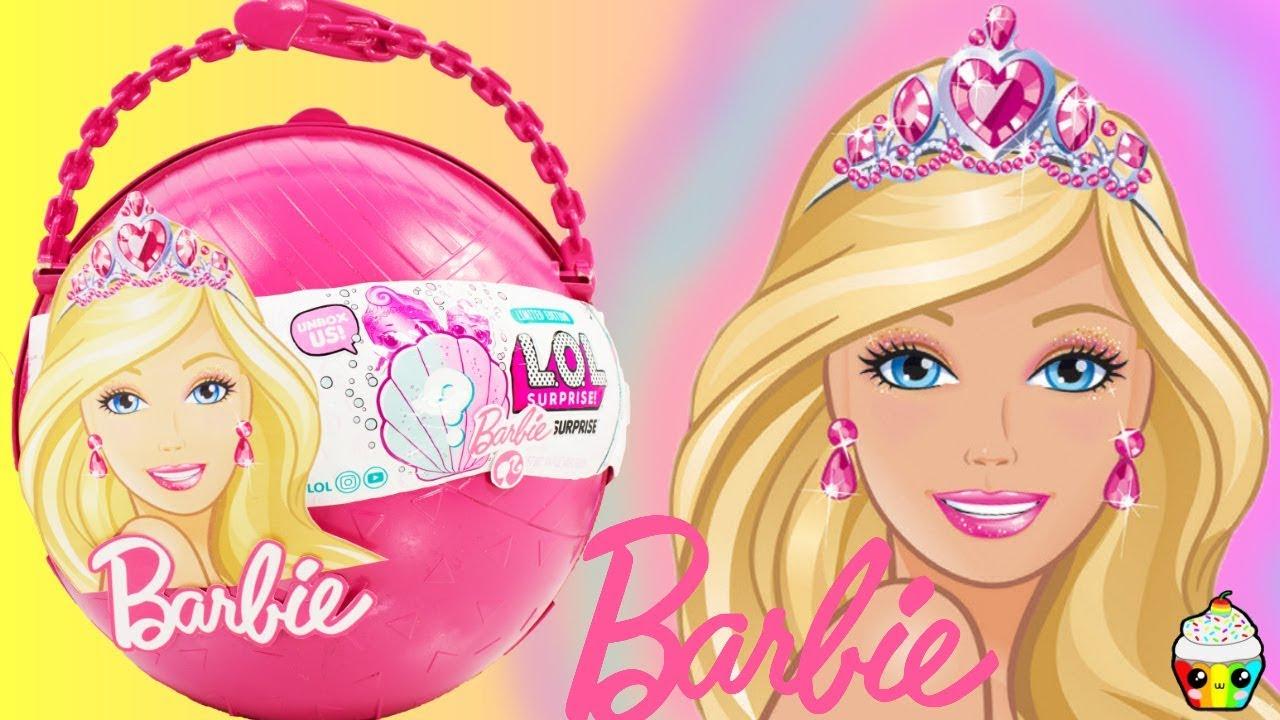 LOL Big Surprise CUSTOM Ball Barbie Toys Activities Games Cupcake Kids Club