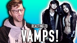 Today I REACT to the J-Rock group known as VAMPS! BECOME A BIGMAC -...