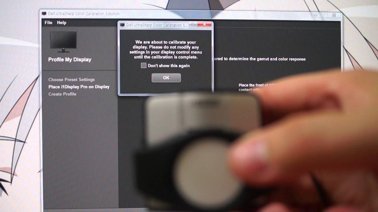 Dell UltraSharp Color Calibration Solution TEST