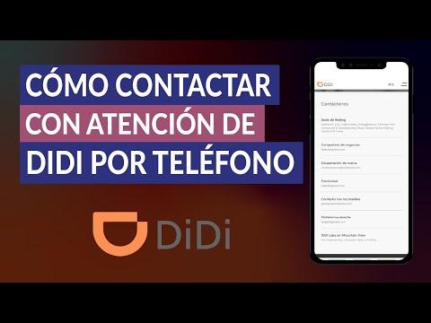 Cómo Contactar con Soporte o Atención al Cliente de DIDI por Teléfono - Quejas y Reclamos