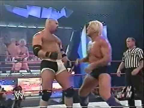 Goldberg vs Ric Flair WWE