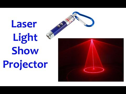 How To Make A Laser Light Show Projector At Home - EasyBT