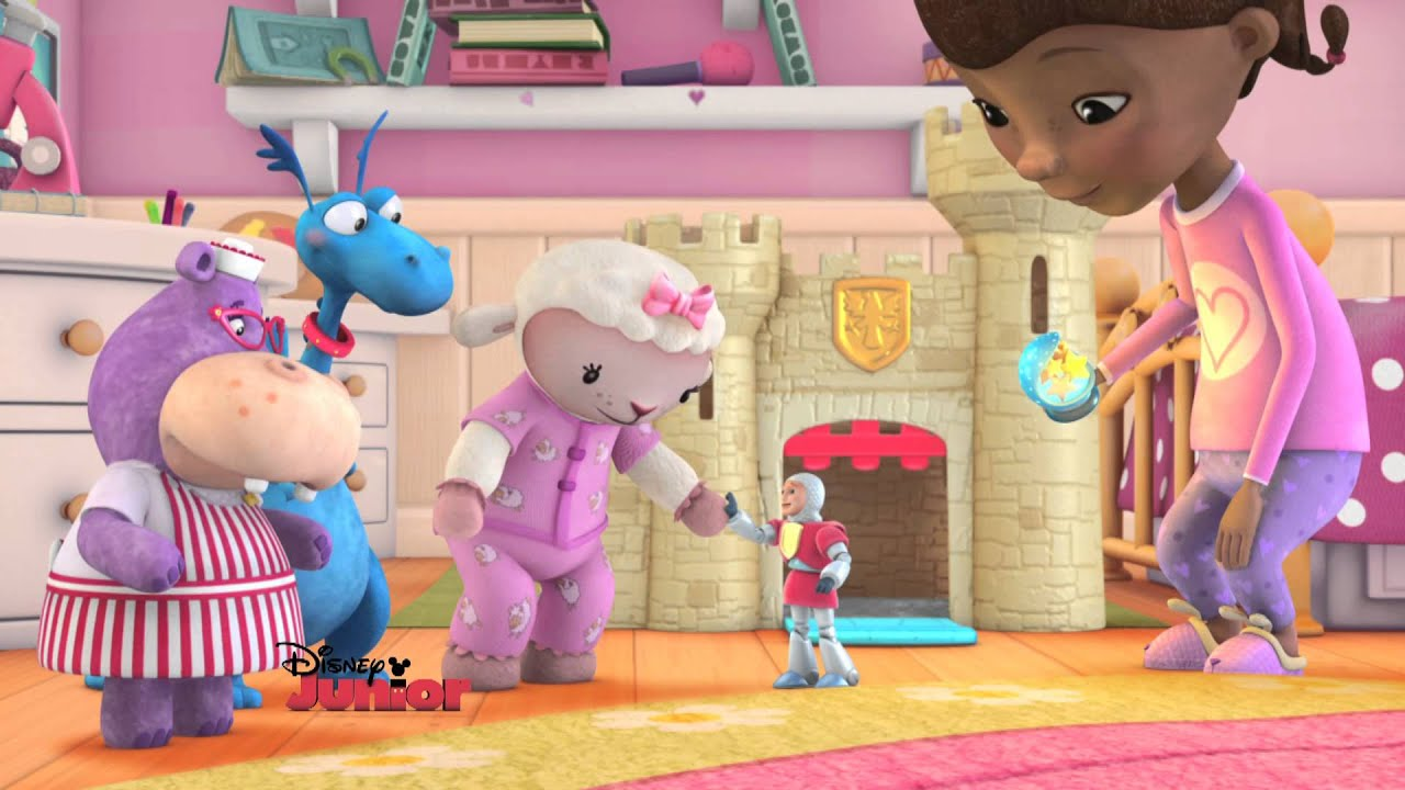 Doc Mcstuffins Upholstered Chair Uk Loll Chairs Sale The Dark Knight Disney Junior Youtube