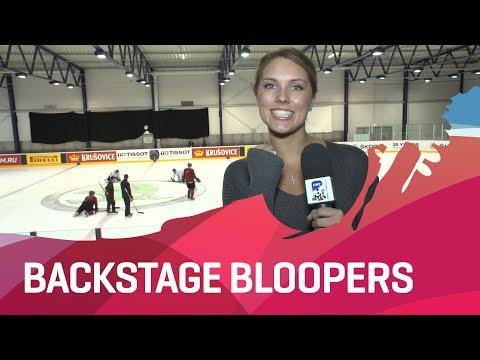 Bloopers from the 2017 IIHF Ice Hockey World Championship - #IIHFWorlds 2017 - 동영상