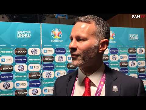 Ryan Giggs Euro 2020 Qualifying Draw Reaction