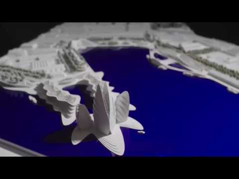 Architecture van Brandenburg Dunedin Waterfront Vision Model