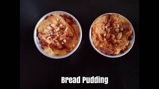 Bread Pudding ll Custard Bread Pudding ll Pudding ll Desserts