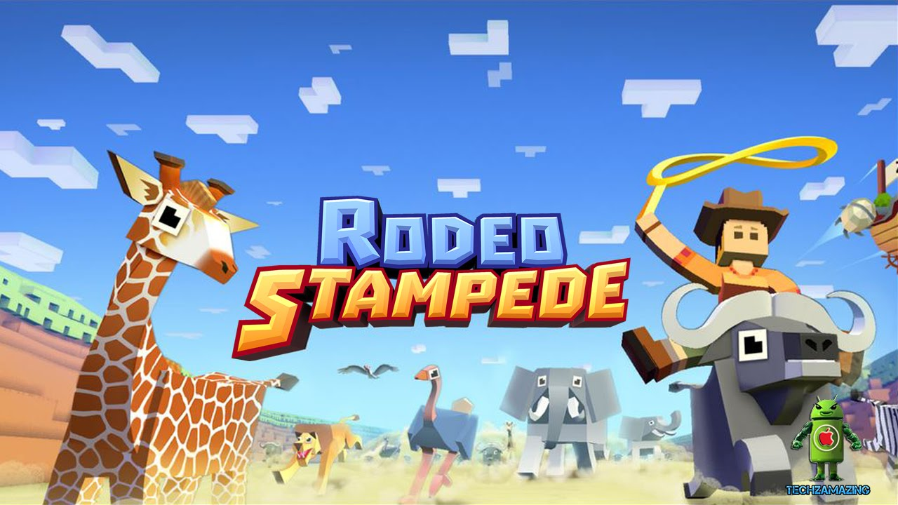 Rodeo Stampede Sky Zoo Safari Ios Android Gameplay Hd