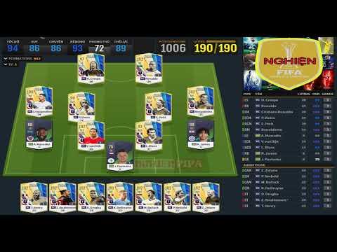 REVIEW FO4 - NGHIỆN FIFA GIẢI MÃ CHỌN CẦU THỦ TEAM MC - LEO RANK DỄ DÀNG