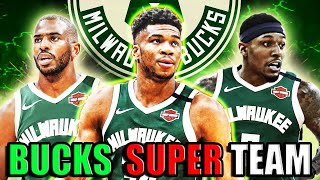 GIANNIS LEAVING THE BUCKS!? These TRADES will make the Bucks UNSTOPPABLE! NEW DYNASTY SUPER TEAM!