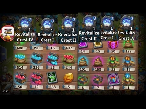 Castle Clash Warehouse Management - Tons Of Items