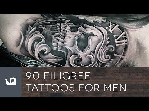 90 Filigree Tattoos For Men