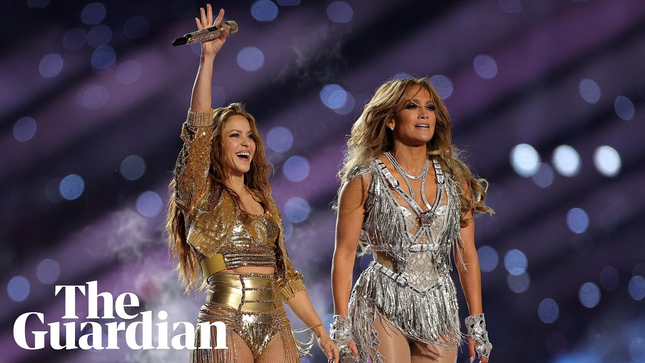 Jennifer Lopez, Shakira deliver high-energy Super Bowl halftime show