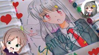 Vẽ Sammy Đào hero team (fanart) - Phiên bản anime cute