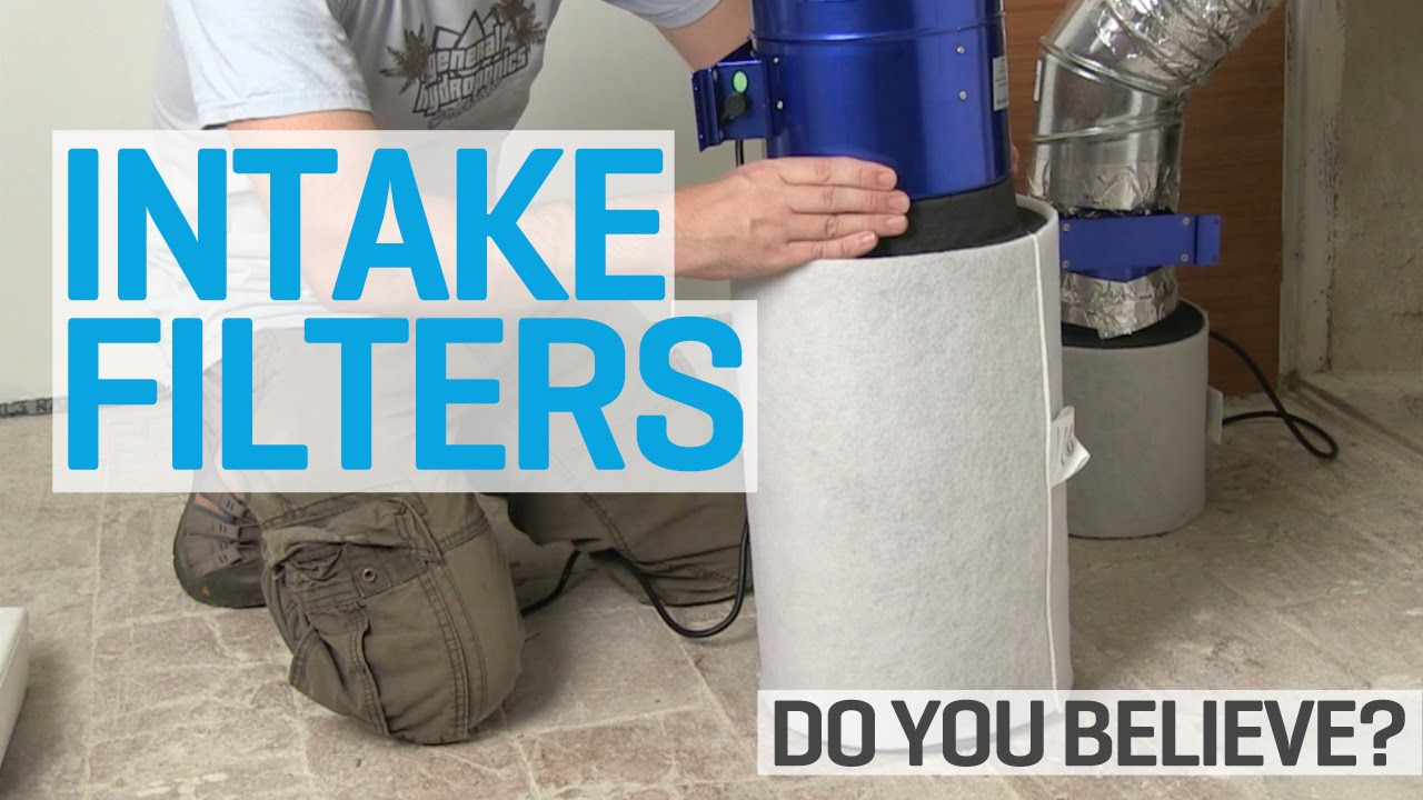& Ventilated Grow Rooms Need Air Intake Filters! - YouTube