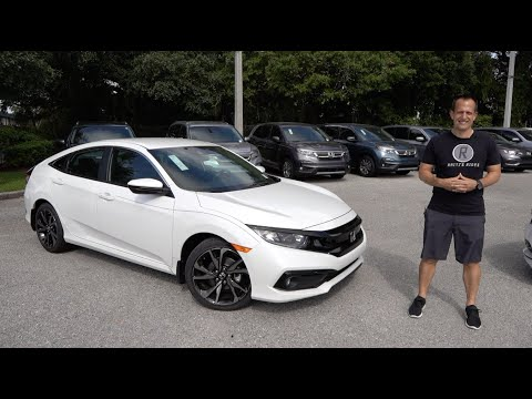 Is the 2020 Honda Civic Sport the BETTER car to BUY than a Corolla?