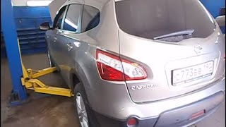 Замена катализаторов Nissan Qashqai . Москва