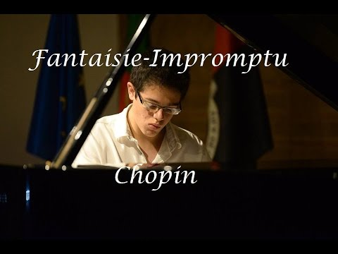 Fantaisie-Impromptu by Frédéric Chopin (cover by Miguel Carvalho)
