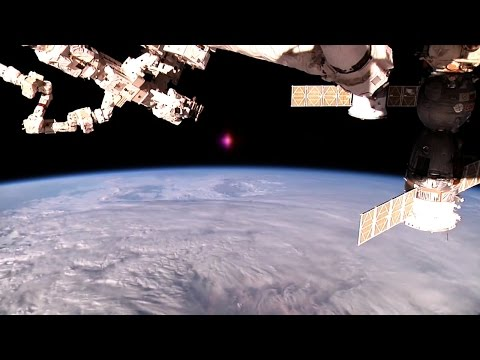 NEW NASA UFO probe  Biological object Seen Leaving Earth NASA cuts live feed  2016