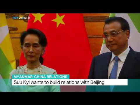 Myanmar-China Relations: Aung San Suu Kyi is on four-day visit to China, Daniel Epstein reports