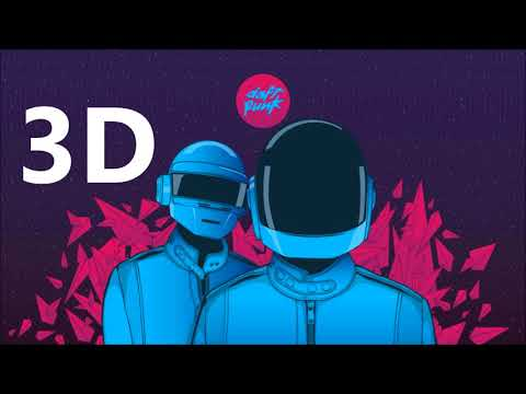 Daft Punk 3D AUDIO  Harder, Better, Faster, Stronger
