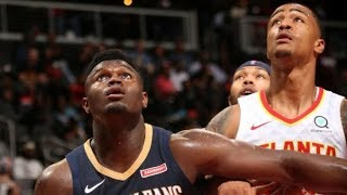 Atlanta Hawks Vs. New Orleans Pelicans   NBA Preseason Opener 2019   10.7.19