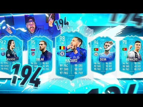 OMG!! I GOT A 194! MY HIGHEST RATED DRAFT!! NO WAY! FIFA 19 Ultimate Team Draft