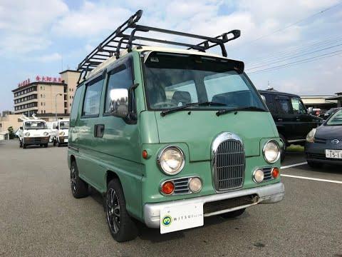 1994 Subaru Sambar Van KV3-134892 Japanese #Mini Truck For Sale Japan #Kei Truck Used Car Vehicle