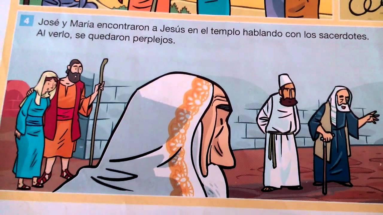 Jesús perdido en el Templo (Lc 2,41-52) - Colegio de La Presentación ...