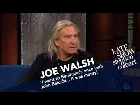 Joe Walsh Survived Some Serious Good Times As A Young Rocker