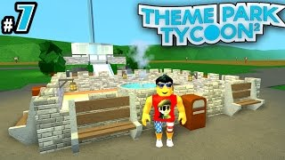 Theme Park Tycoon! Ep. 7: Detailing the Park! | Roblox
