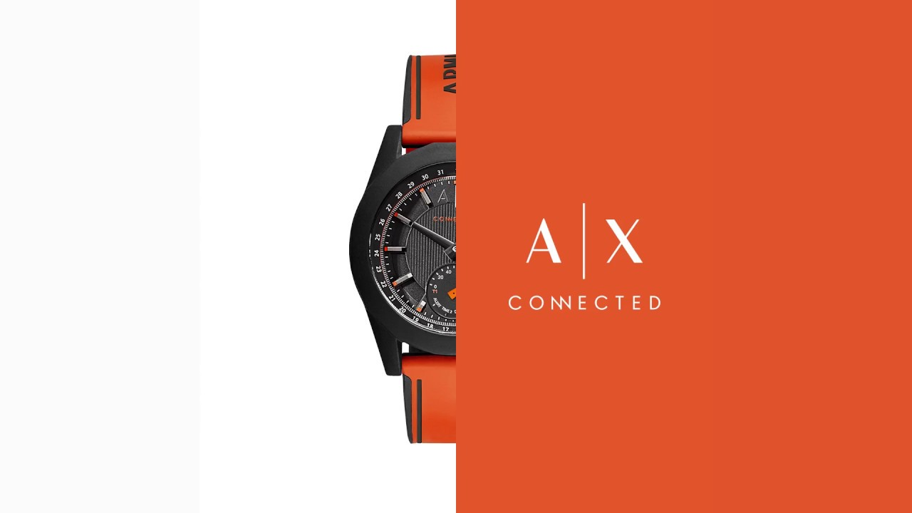 be1566ef89a Smartwatches Armani Exchange Connected - YouTube
