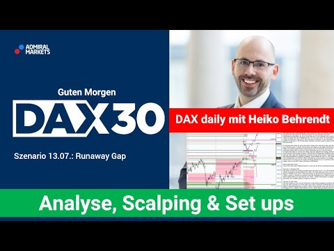 DAX aktuell: Analyse, Trading-Ideen & Scalping | DAX30 | CFD Trading | DAX Analyse | 13.07.2020