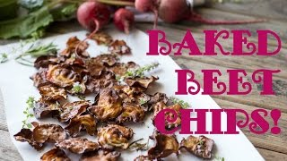 Coley Cooks Through The Seasons: Oven Baked Beet Chips!