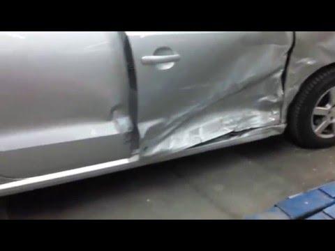 Кузовной ремонт Volkswagen Polo Часть 1