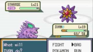 Pokemon Leaf Green Walkthrough Part 10: Gym Leader Misty